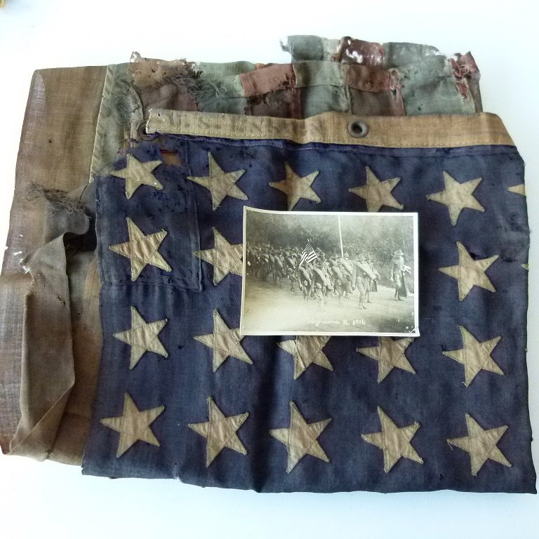 LARGE LOT WWI US ARMY BATTERY F AT MEXICAN BORDER - 3