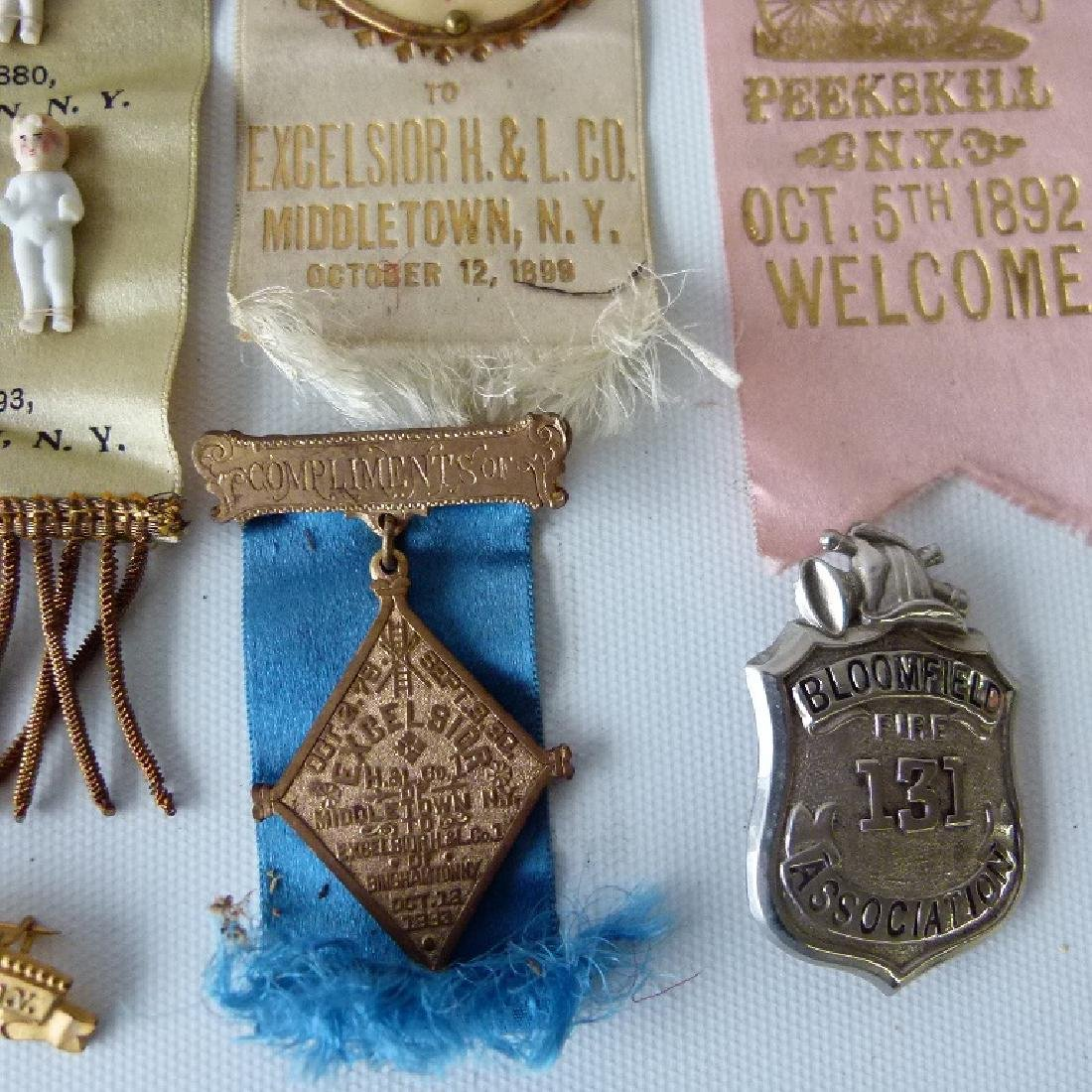 LOT ASSORTED INCL. EXCELSIOR FIRE DEPARTMENT EXHIBITION - 10