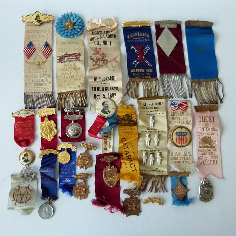 LOT ASSORTED INCL. EXCELSIOR FIRE DEPARTMENT EXHIBITION