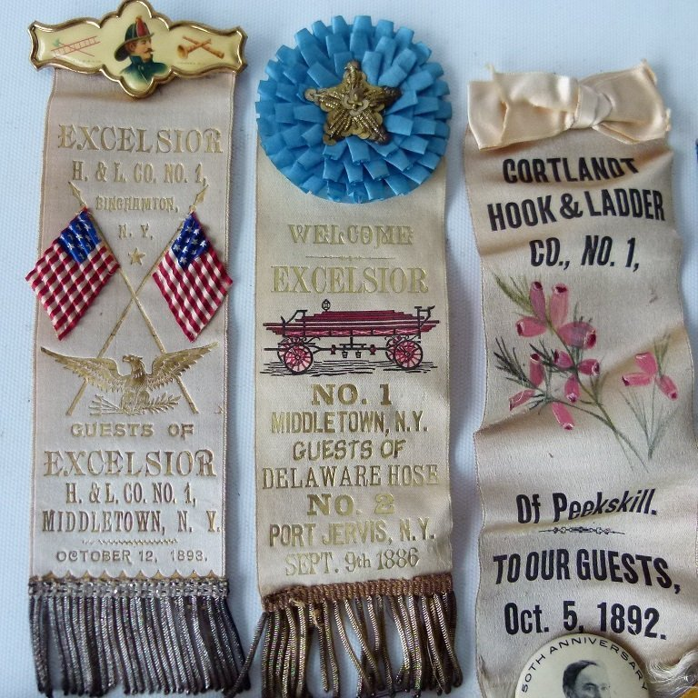 LOT ASSORTED INCL. EXCELSIOR FIRE DEPARTMENT EXHIBITION - 2