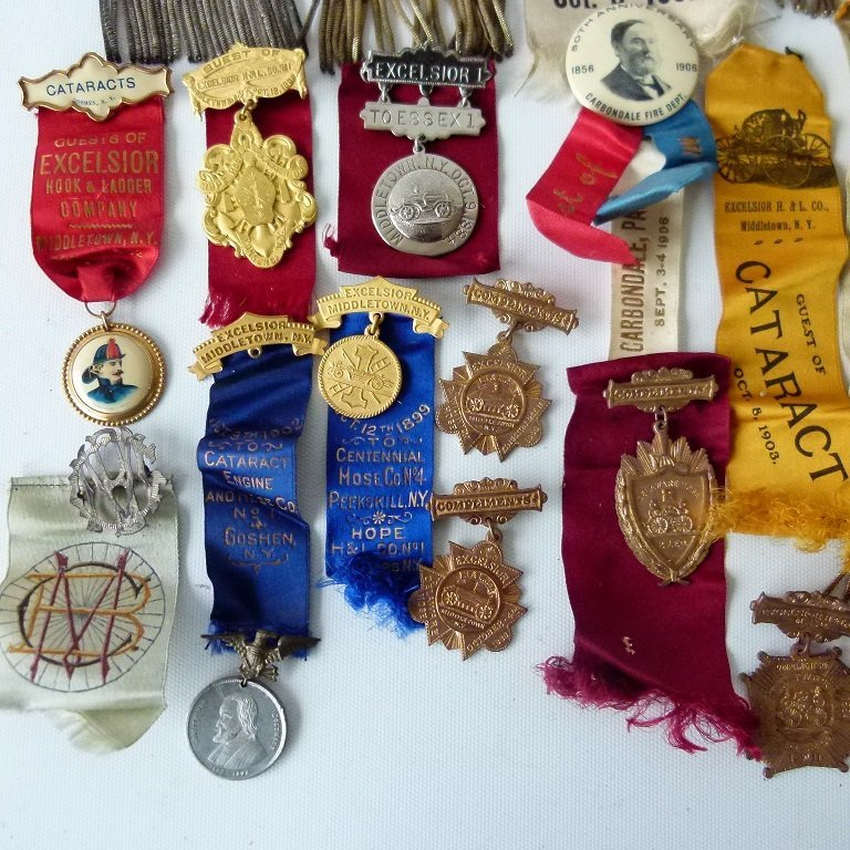 LOT ASSORTED INCL. EXCELSIOR FIRE DEPARTMENT EXHIBITION - 5