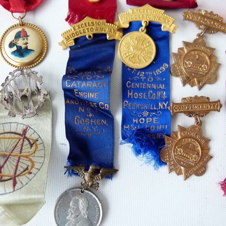 LOT ASSORTED INCL. EXCELSIOR FIRE DEPARTMENT EXHIBITION - 6