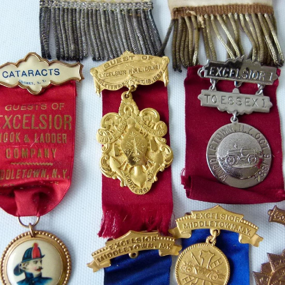 LOT ASSORTED INCL. EXCELSIOR FIRE DEPARTMENT EXHIBITION - 7