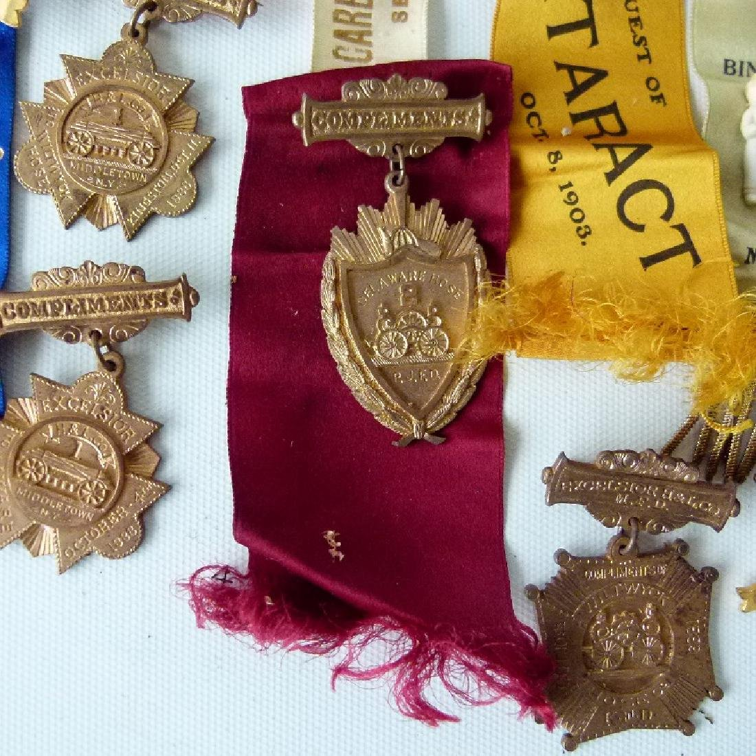 LOT ASSORTED INCL. EXCELSIOR FIRE DEPARTMENT EXHIBITION - 9