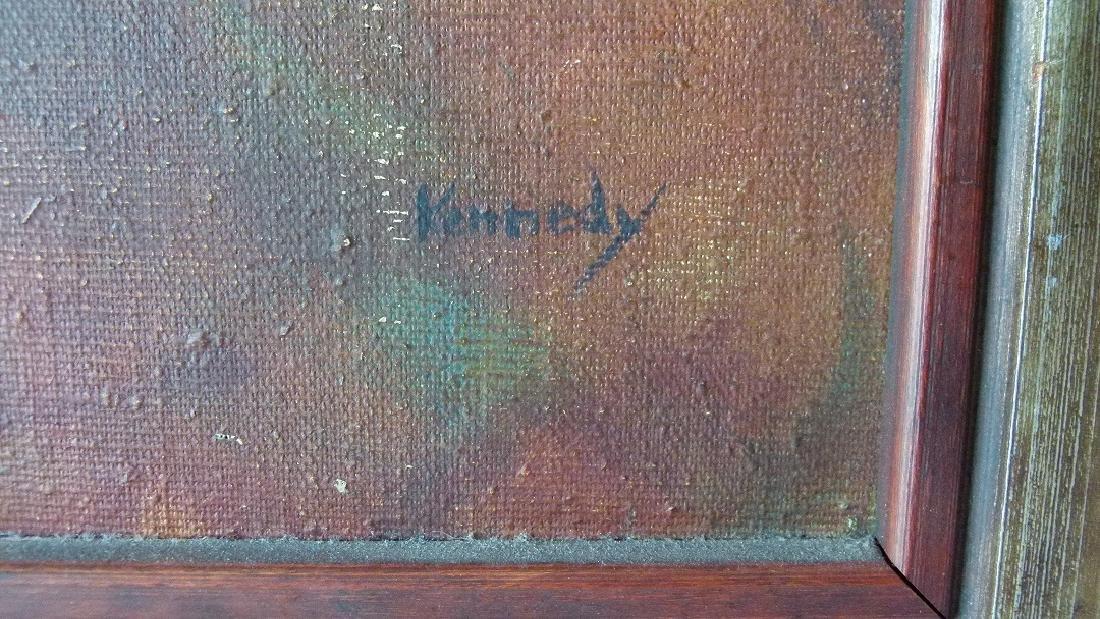 "O/C ""NURSING MOTHER"" SIGNED KENNEDY (PAUL NEW YORK, NY) - 2"