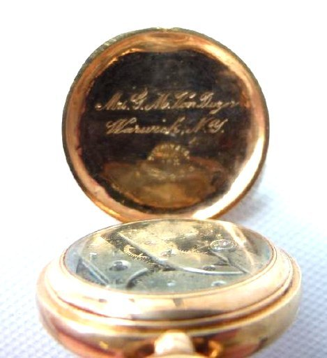 (2) LADIES POCKET WATCHES INCL. TIFFANY & CO. NEW YORK - 7