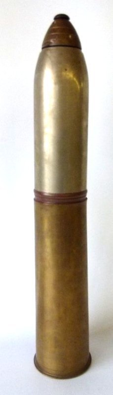 GORHAM WORLD WAR I EIGHTEEN POUND TRENCH ART COCKTAIL