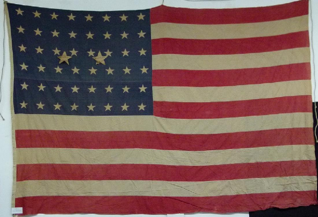 "AMERICAN FLAG FLOWN OVER ""WINCHESTER ARMS CO"" 1914-1919"
