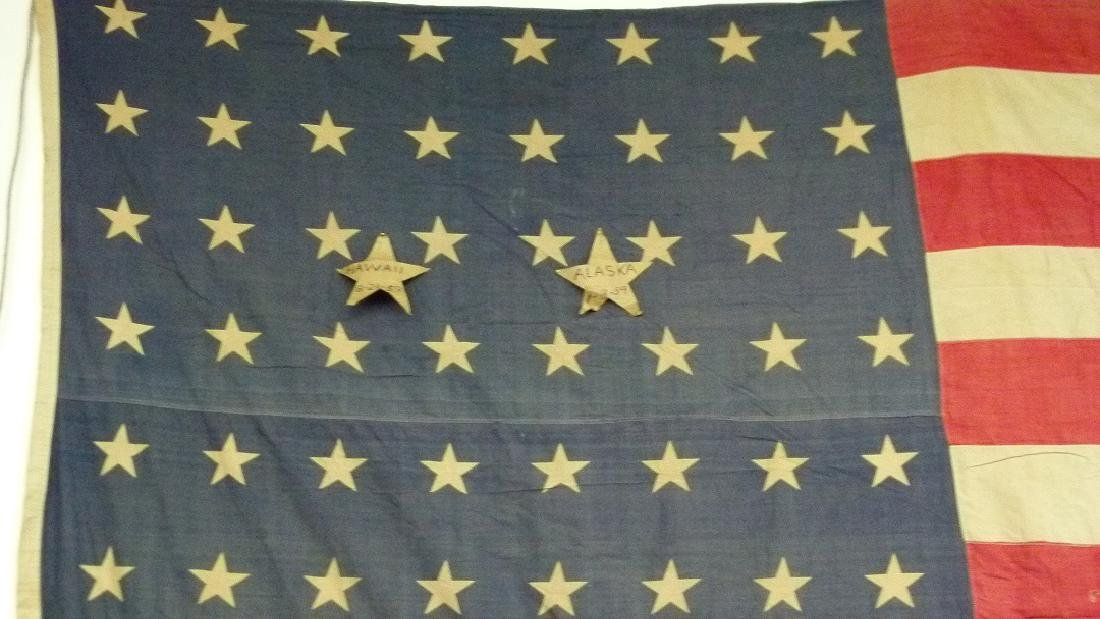 "AMERICAN FLAG FLOWN OVER ""WINCHESTER ARMS CO"" 1914-1919 - 2"