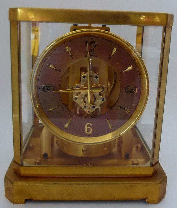 LECOULTRE ATMOS CLOCK PERPETUAL MOTION SHELF CLOCK C.