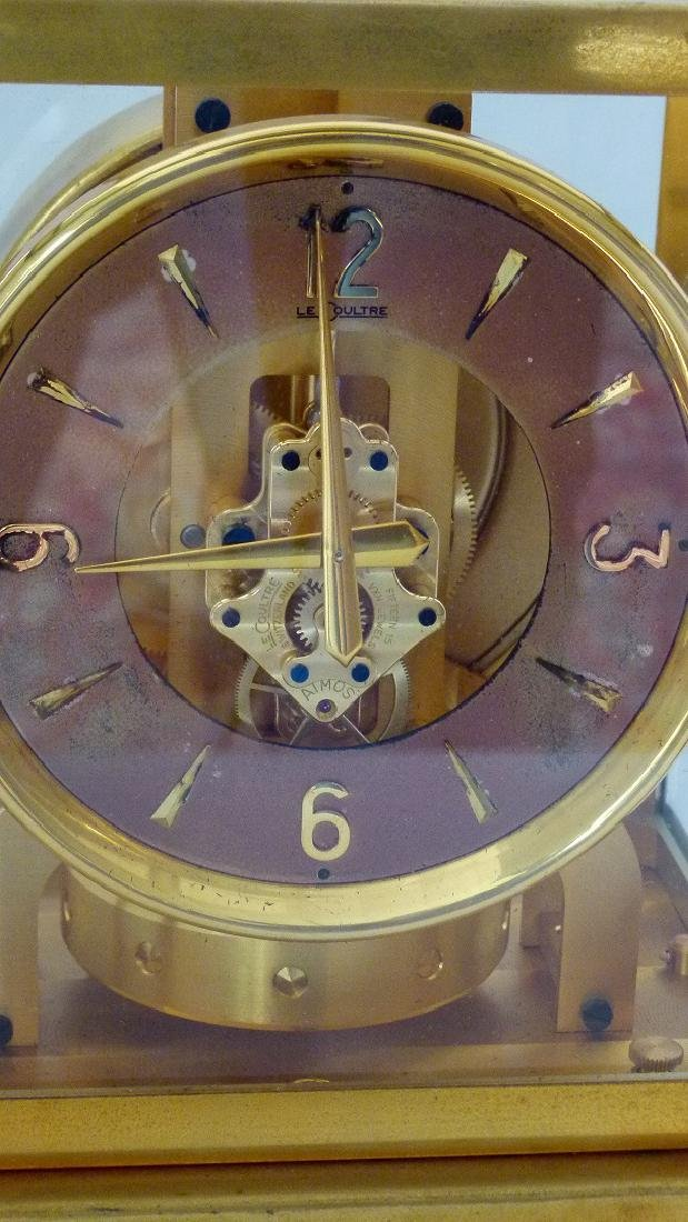 LECOULTRE ATMOS CLOCK PERPETUAL MOTION SHELF CLOCK C. - 2