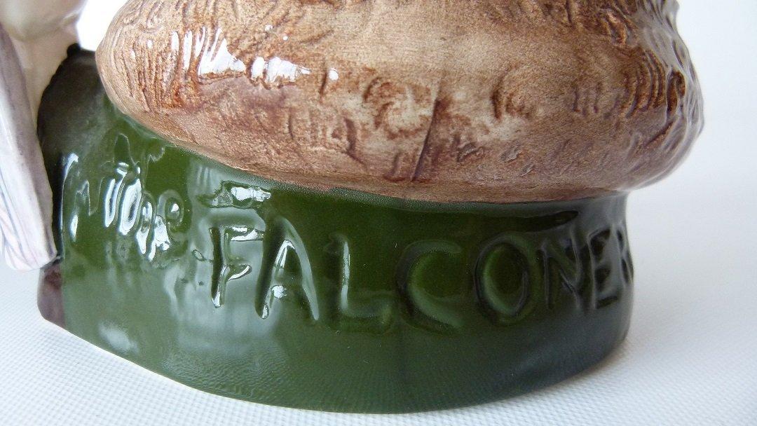 LOT (2) ROYAL DOULTON CAPT. AHAB/THE FALCONEER TOBY - 3