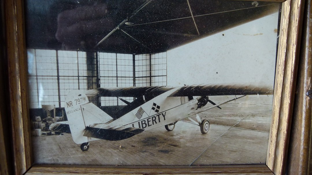 "LOT (4) VINTAGE PHOTOS AIRPLANE ""LIBERTY"" FIRST FLIGHT, - 4"