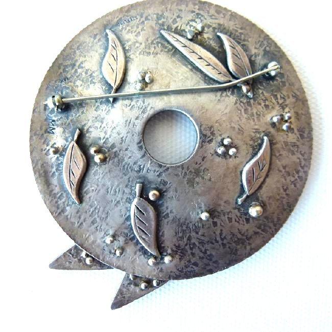 ASSORTED ART MODERN STERLING/STEEL CUFF BRACELETS - 9