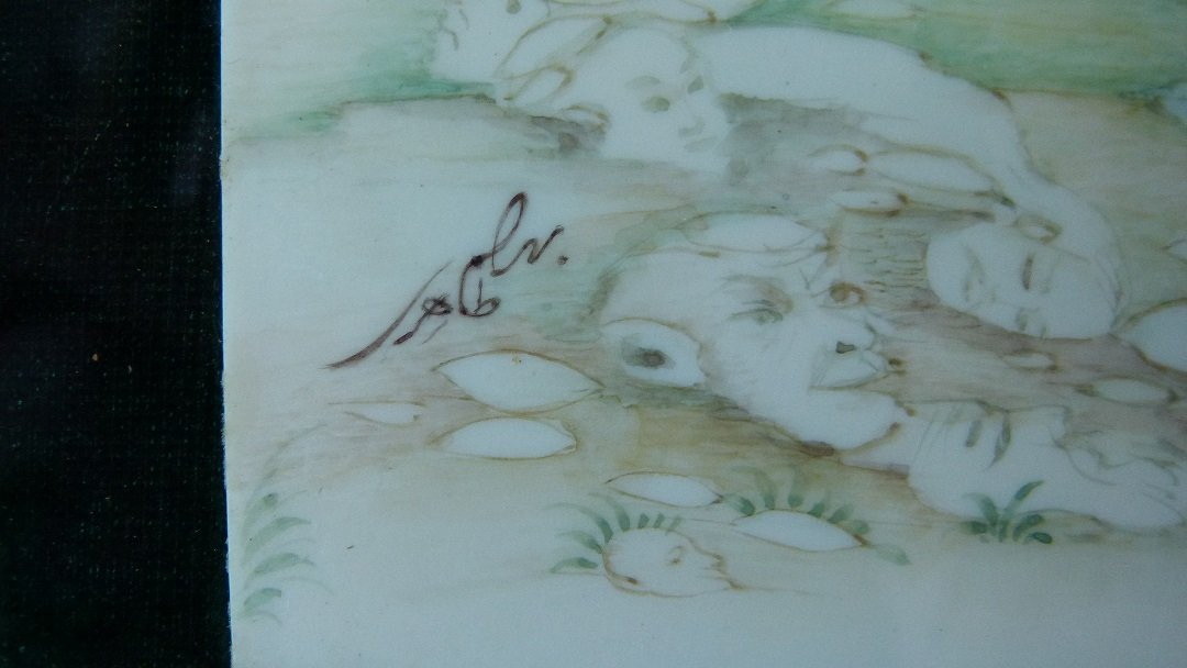INDO-PERSIAN W/C SIGNED ISLAMIC CALLIGRAPHY 20TH C. - 4