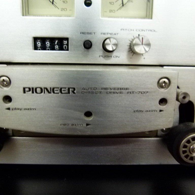 LOT (2) PIONEER MODEL R.T.707 REEL TO REEL C. 1970 - 3