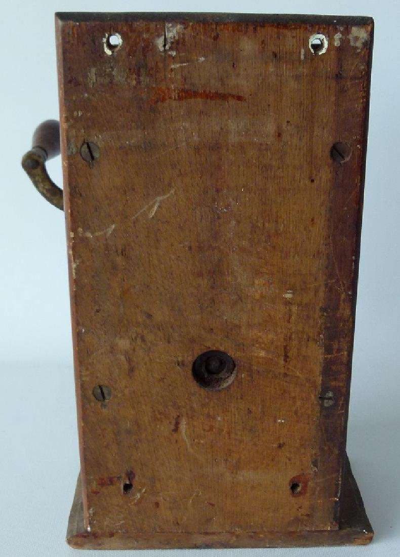TELEPHONE MILL CAST IRON COFFEE MILL (ARCADE) 1888 - 4