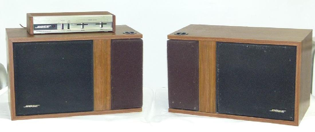 BOSE 301 SPEAKERS, C. 1970/80