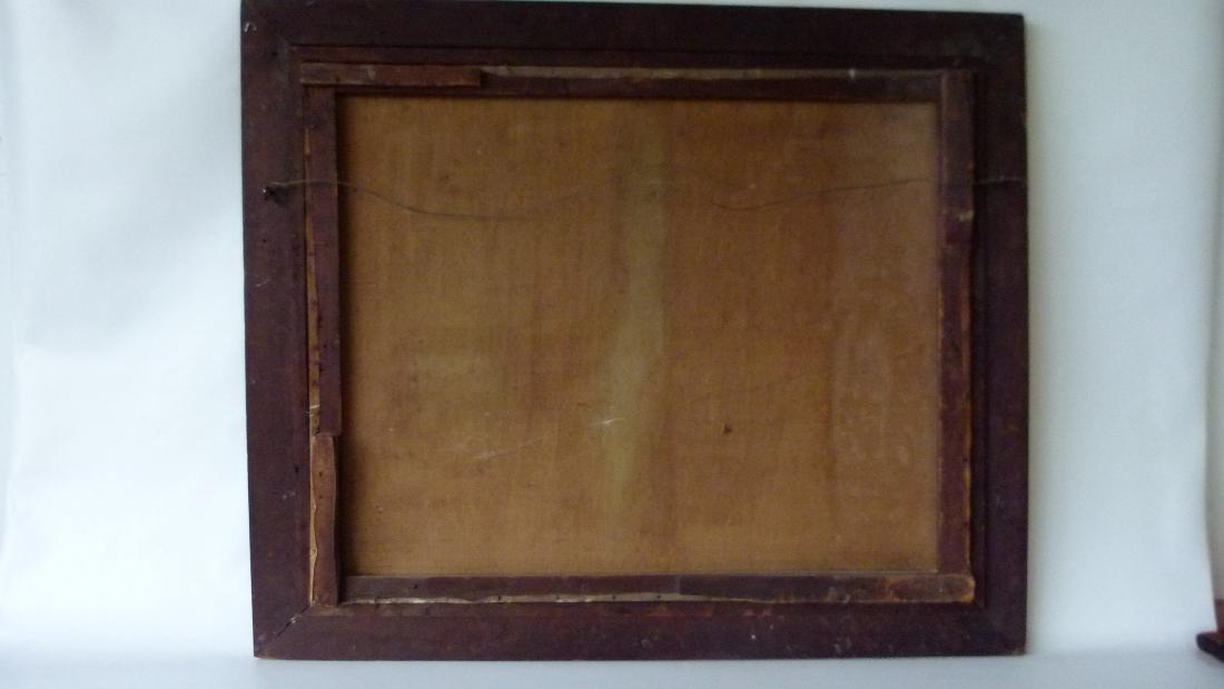O/C FOLK ART EQUESTRIAN RIDERS UNSIGNED, C. 1850/60 - 9