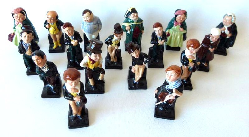LOT (17) ROYAL DOULTON DICKENS FIGURINES/VARIOUS