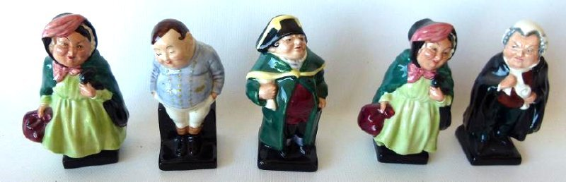 LOT (17) ROYAL DOULTON DICKENS FIGURINES/VARIOUS - 2