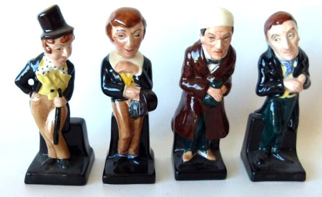 LOT (17) ROYAL DOULTON DICKENS FIGURINES/VARIOUS - 3