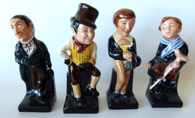 LOT (17) ROYAL DOULTON DICKENS FIGURINES/VARIOUS - 5