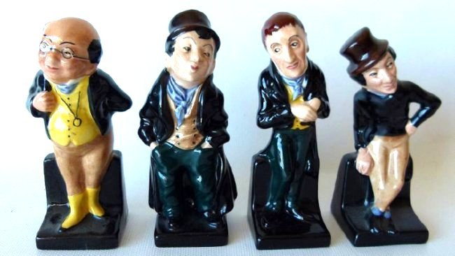 LOT (17) ROYAL DOULTON DICKENS FIGURINES/VARIOUS - 7