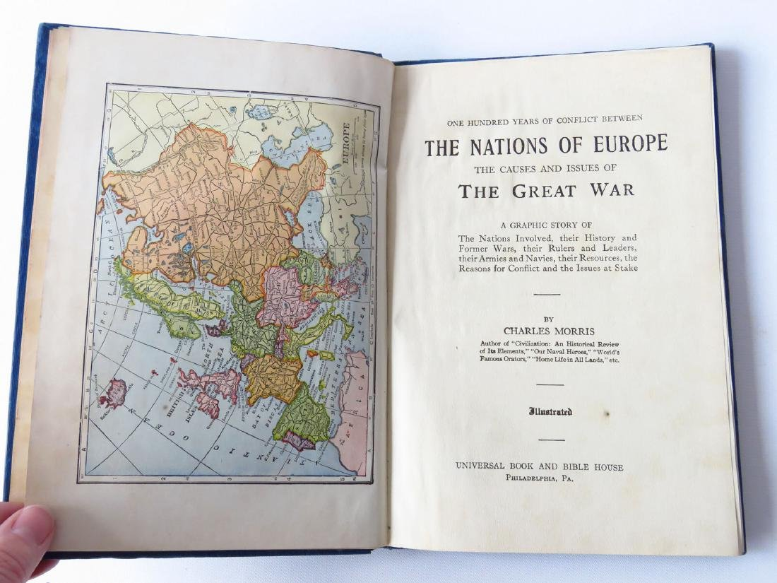 VOL. NATIONS OF EUROPE THE CAUSE AND ISSUES OF THE - 4