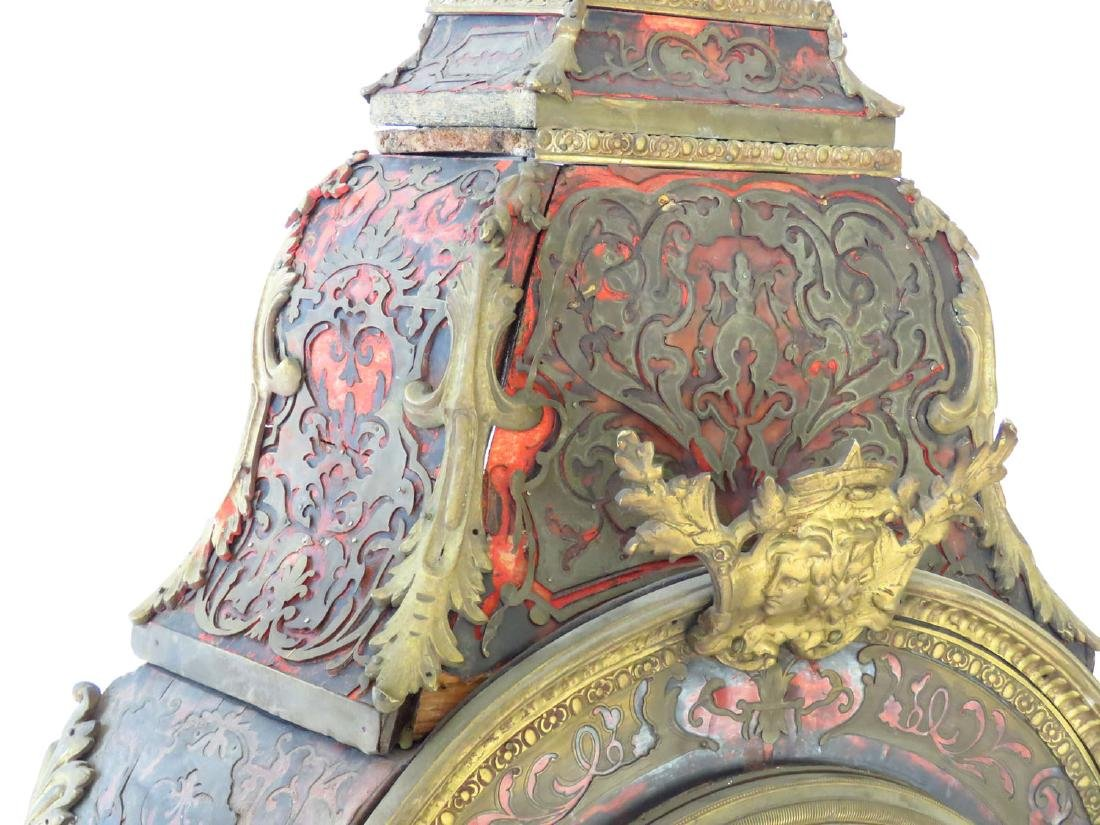 HUGE FRENCH BOULLE MANTLE/SHELF CLOCK 19TH C. - 3