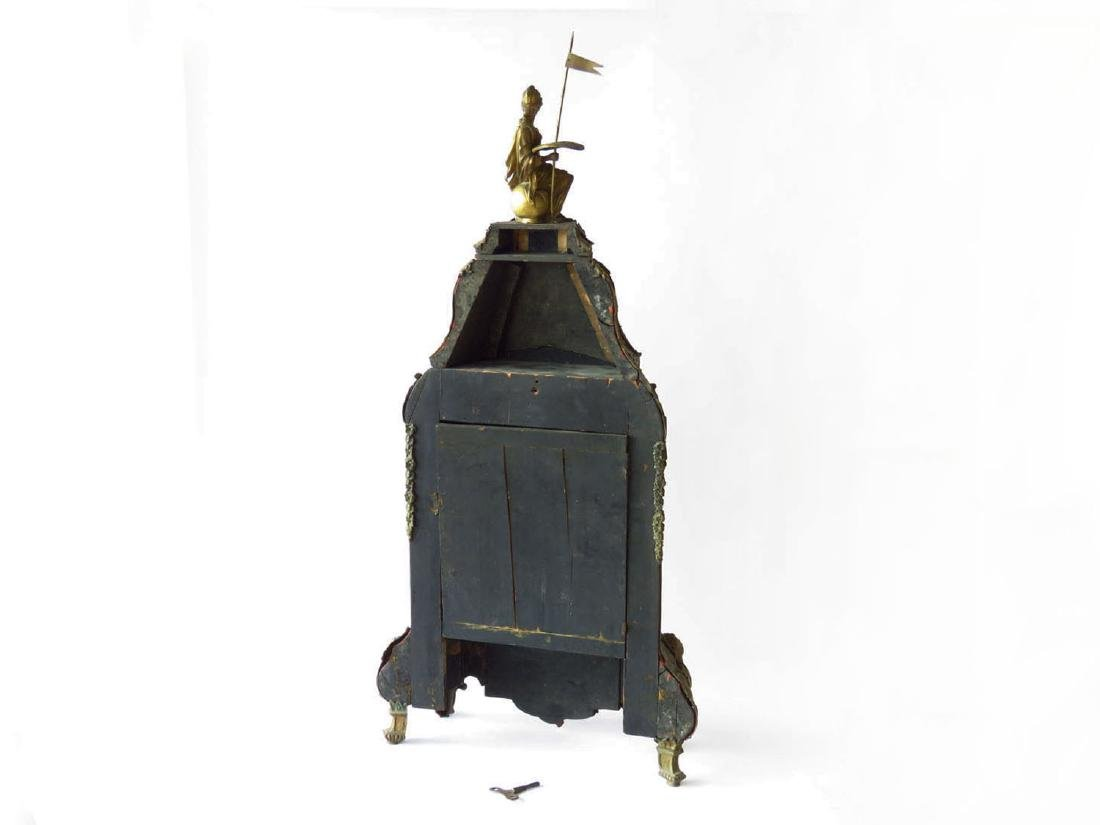 HUGE FRENCH BOULLE MANTLE/SHELF CLOCK 19TH C. - 9