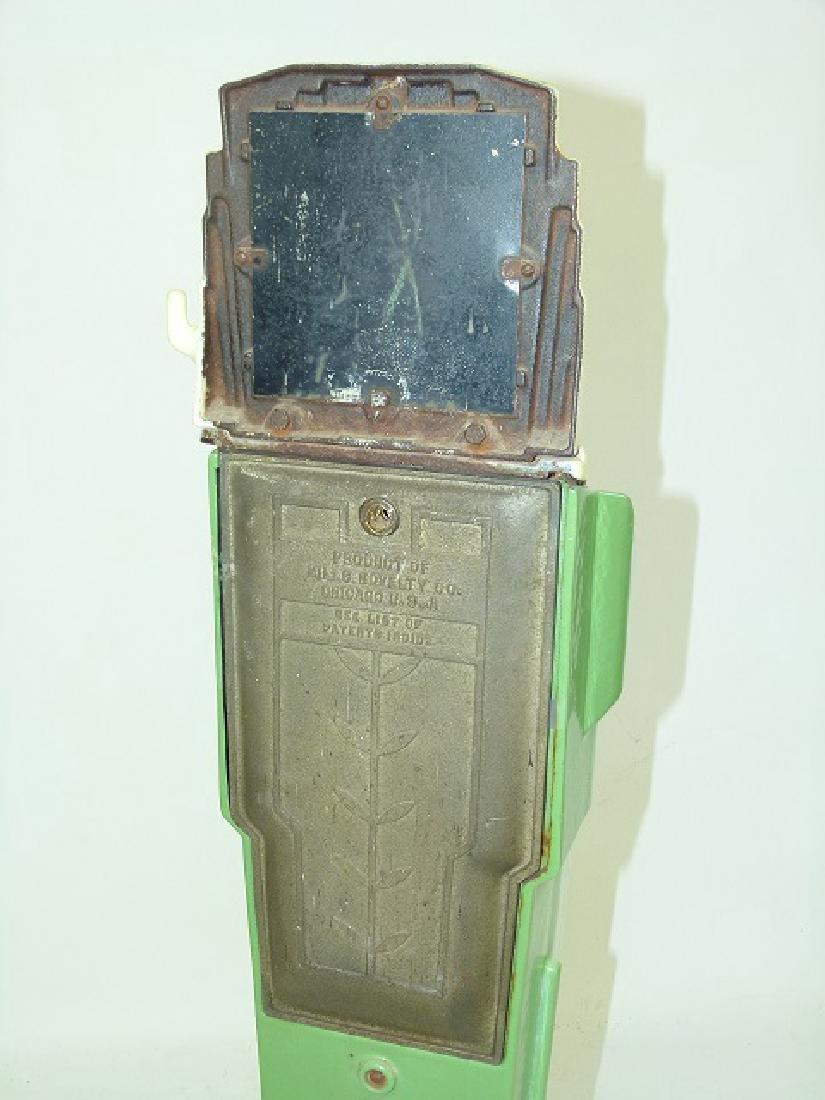 ART DECO ENAMELED CAST IRON PENNY SCALE C. 1920/30 - 6