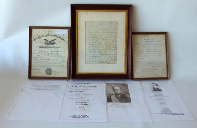 LOT (3) MILITARY DOCUMENTS INCL. PROMOTIONAL