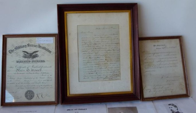 LOT (3) MILITARY DOCUMENTS INCL. PROMOTIONAL - 2