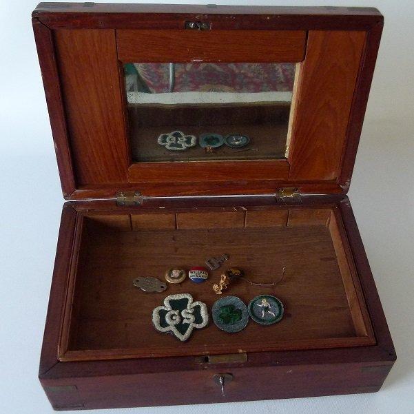 VICTORIAN MAHOGANY SEWING BOX, 19TH C. - 5