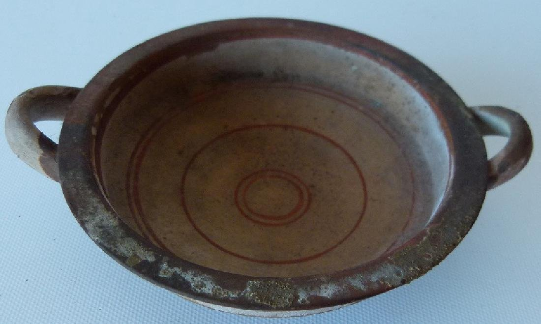 LOT (2) SOUTHWEST AMERICAN INDIAN POTTERY BOWLS, - 4