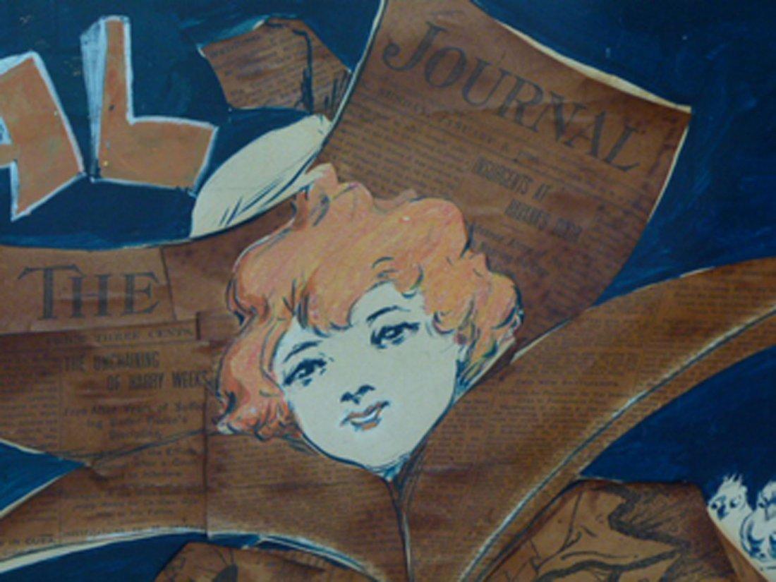 RARE W/C LADIES HOME JOURNAL ORIGINAL POSTER ARTWORK - 4