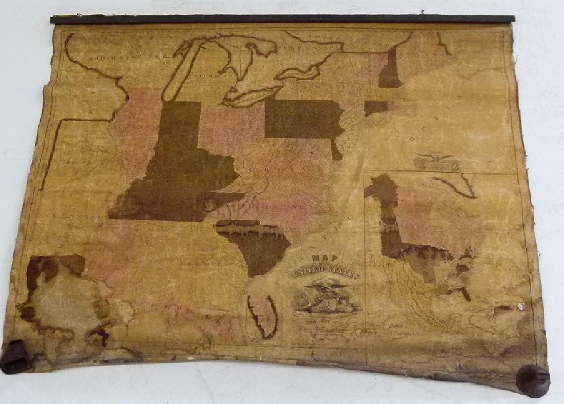 MAP OF UNITED STATES, C. VARLE 1832 - 2