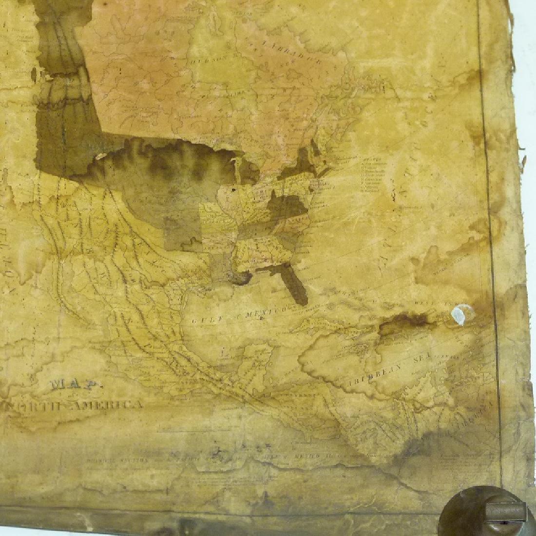 MAP OF UNITED STATES, C. VARLE 1832 - 6