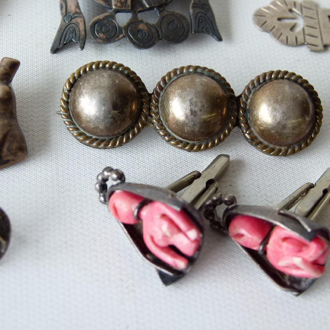 LOT ASSORTED MEXICAN STERLING JEWELRY - 4
