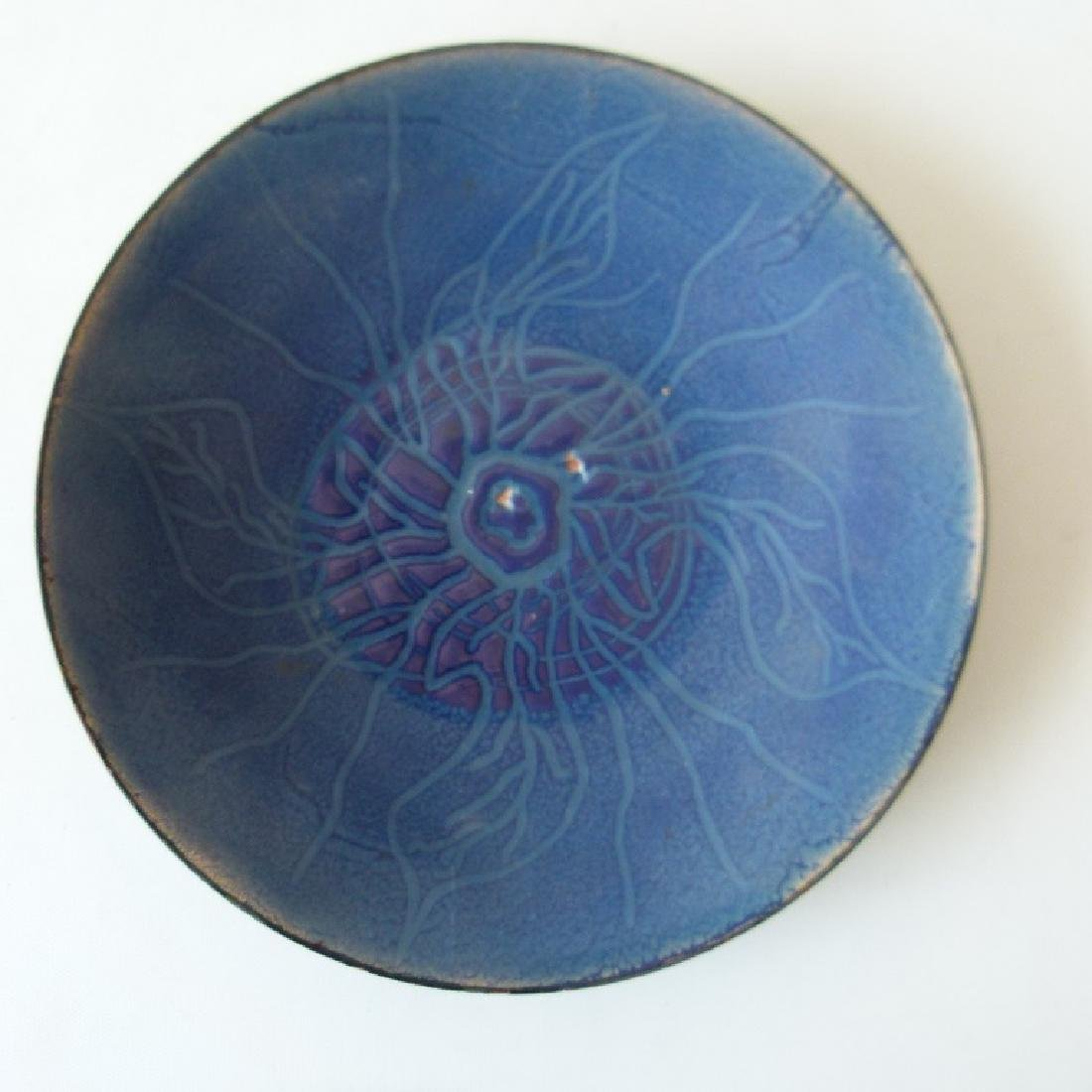LOT (4) MID CENTURY MODERN SHOW PLATES - 7
