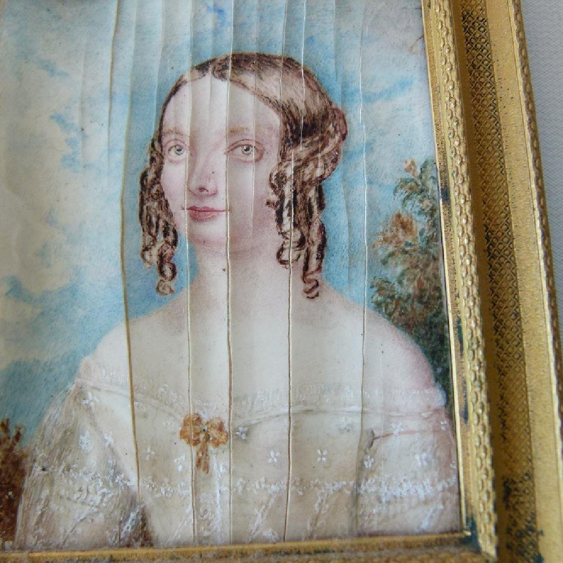 FRENCH W/C PORTRAIT OF YOUNG GIRL - 2