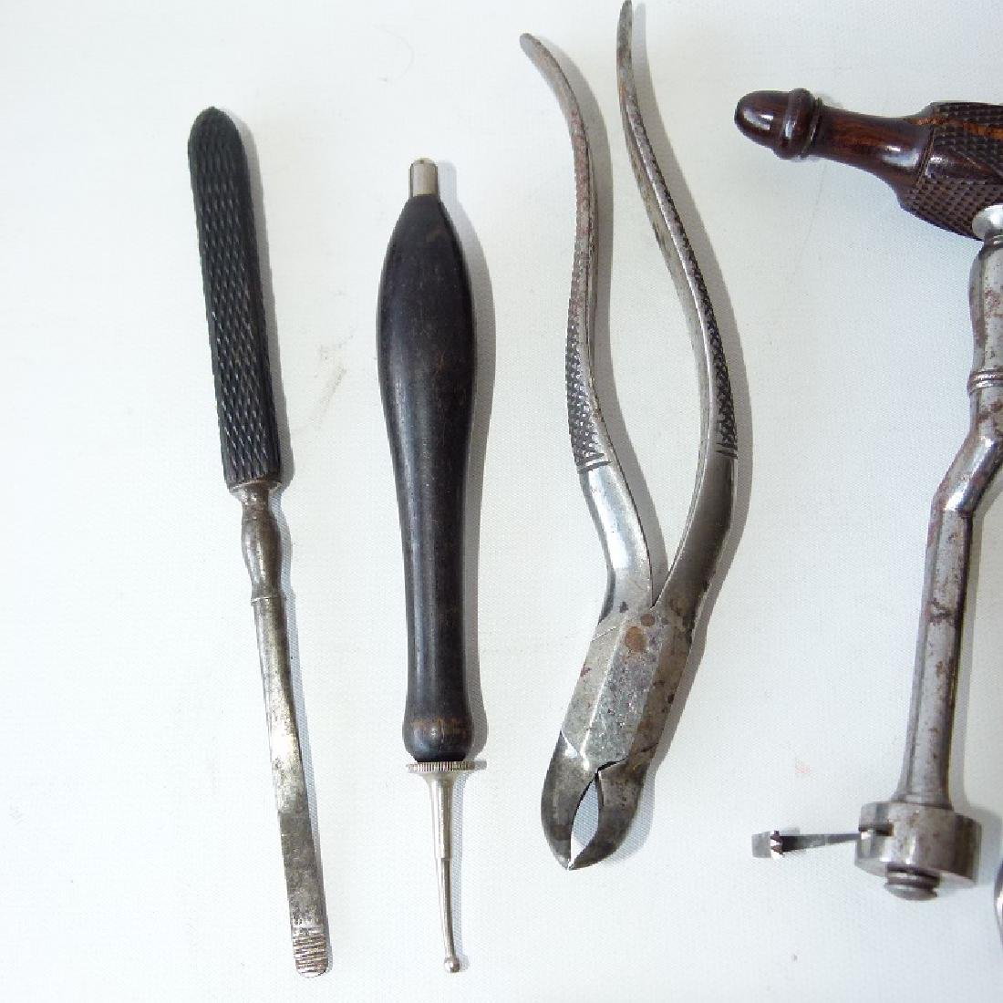 LOT CIVIL WAR ERA DENTAL TOOLS - 3