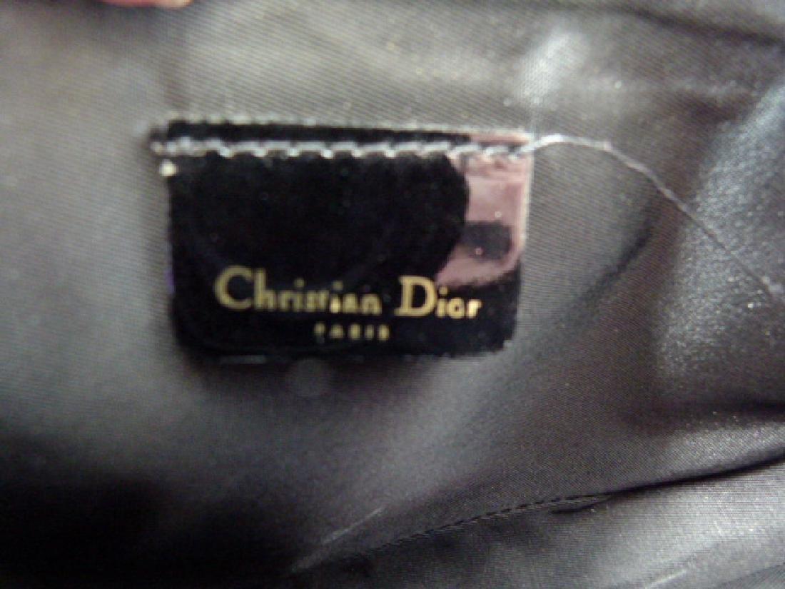 CHRISTIAN DIOR DESIGNER LEATHER PURSE - 3