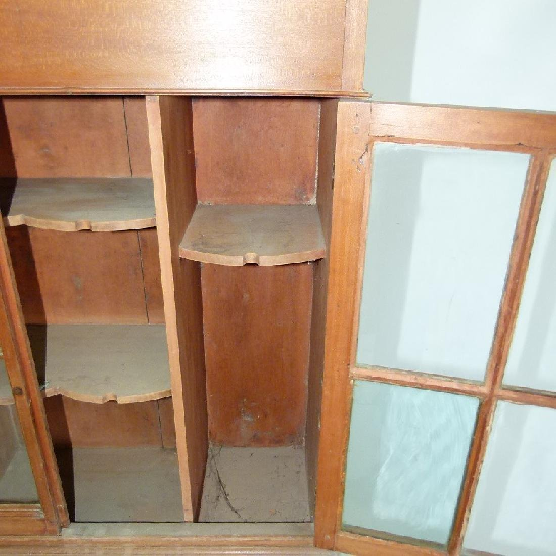 FEDERAL CHERRY HANGING CUPBOARD - 10