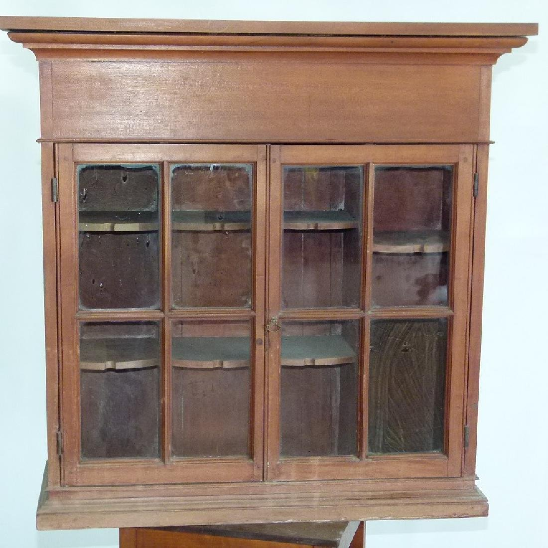 FEDERAL CHERRY HANGING CUPBOARD - 2