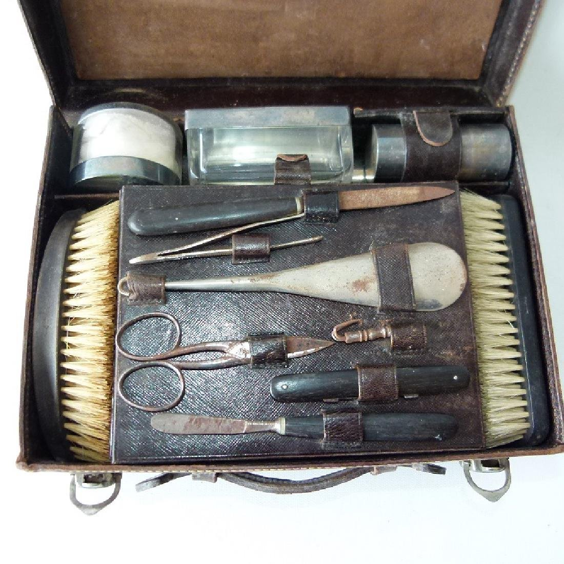 GERMAN LEATHER COSMETIC CASE - 2