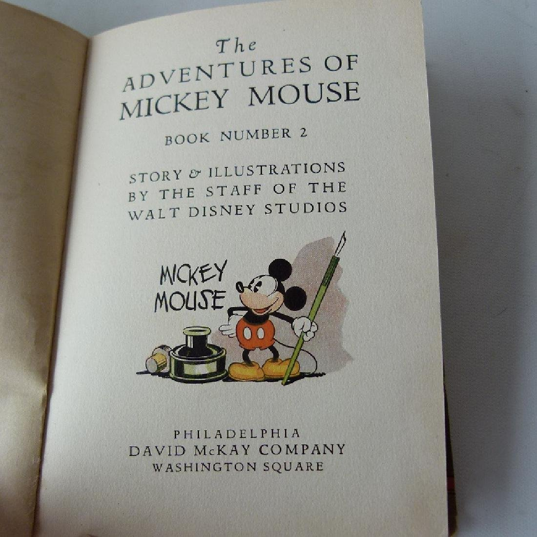 LOT (2) THE ADVENTURES OF MICKEY MOUSE - 10