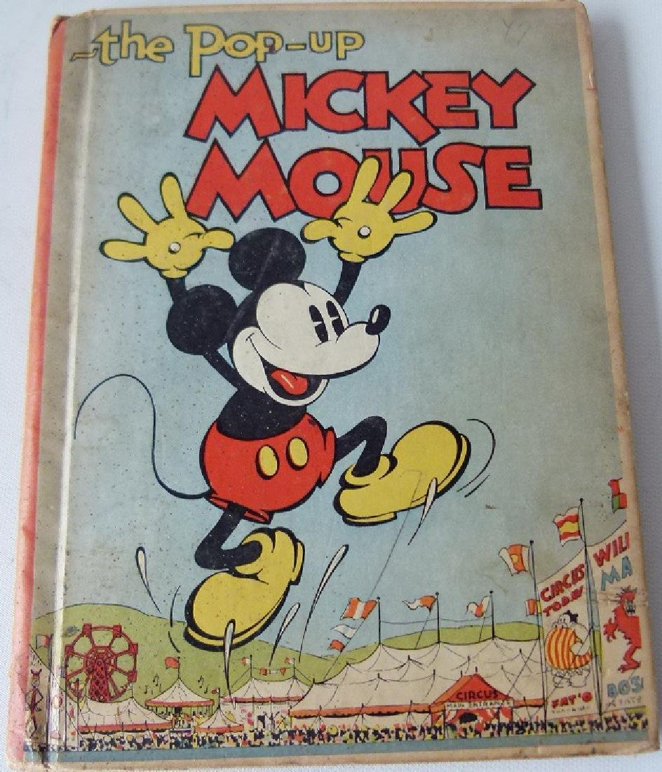 LOT (2) THE ADVENTURES OF MICKEY MOUSE - 2