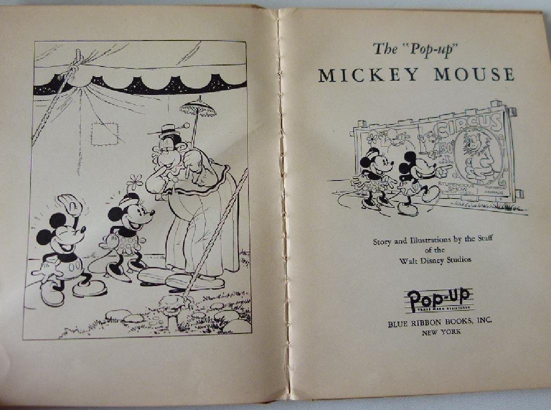 LOT (2) THE ADVENTURES OF MICKEY MOUSE - 4
